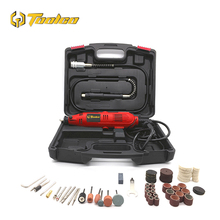 цена на Toolgo Electric Mini Drill Die Grinder Engraver Polishing Machine Variable Speed Dremel Rotary Tool with 100pcs Accessories
