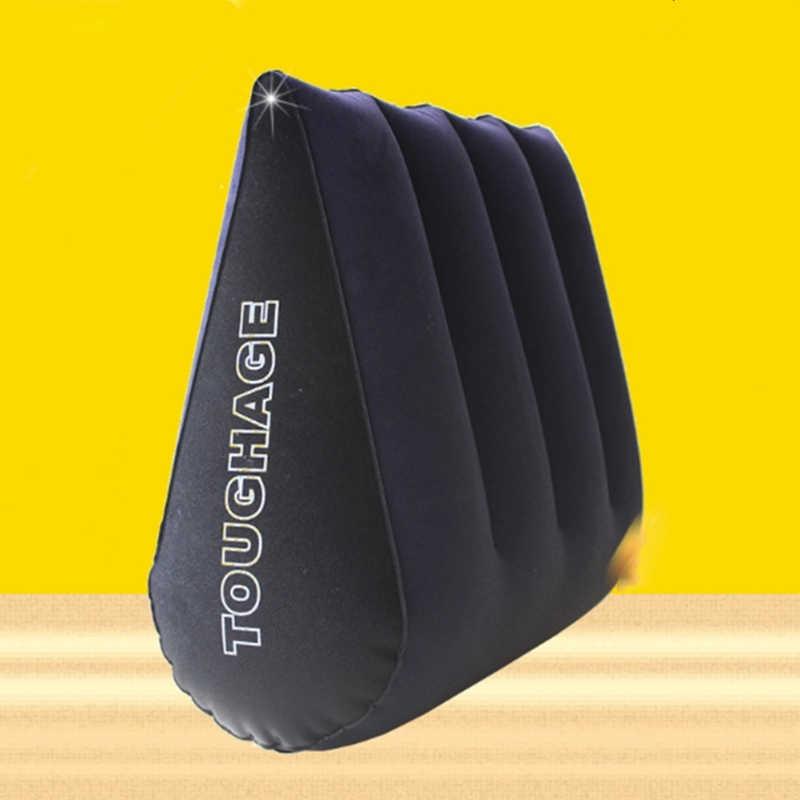 หมอนเพศทางเพศเบาะตำแหน่ง Inflatable Wedge เซ็กซี่หมอนสำหรับของเล่นสำหรับคู่ PVC เร้าอารมณ์โซฟาเพศเฟอร์นิเจอร์สำหรับผู้ใหญ่