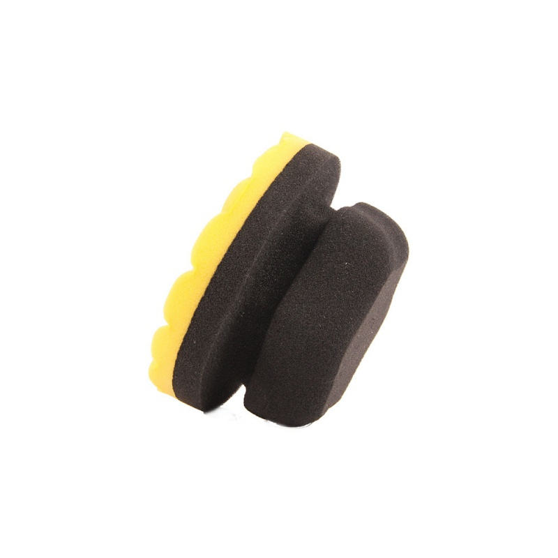New Ergonomically Designed Flat Waxing Applicator Polishes Perfect For Applying Any Car Wax, Glaze And Sealant