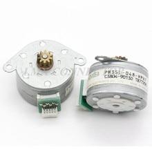 2 PCS NMB PM35L-048-HPH7 Motor de Passo de 7.5 Graus com a Engrenagem