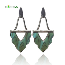 2018 fashion drop earrings for women long pendant earring custume jewelry earring hanging ethnic boho bohemia earring