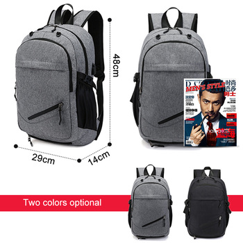 USB Basketball Backpack Gym Fitness Bag Sporttas Net Ball Bags for Men Sports Sac De Sport Tas Men's School Boys Pack XA414WA 4