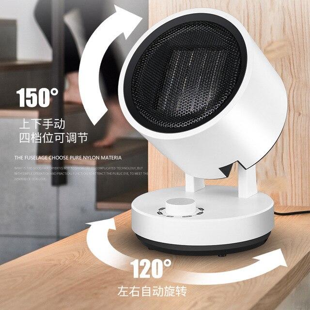 Réchauffeur électrique petit chauffage solaire maison économie d'énergie mini petite salle de bain chauffe-air