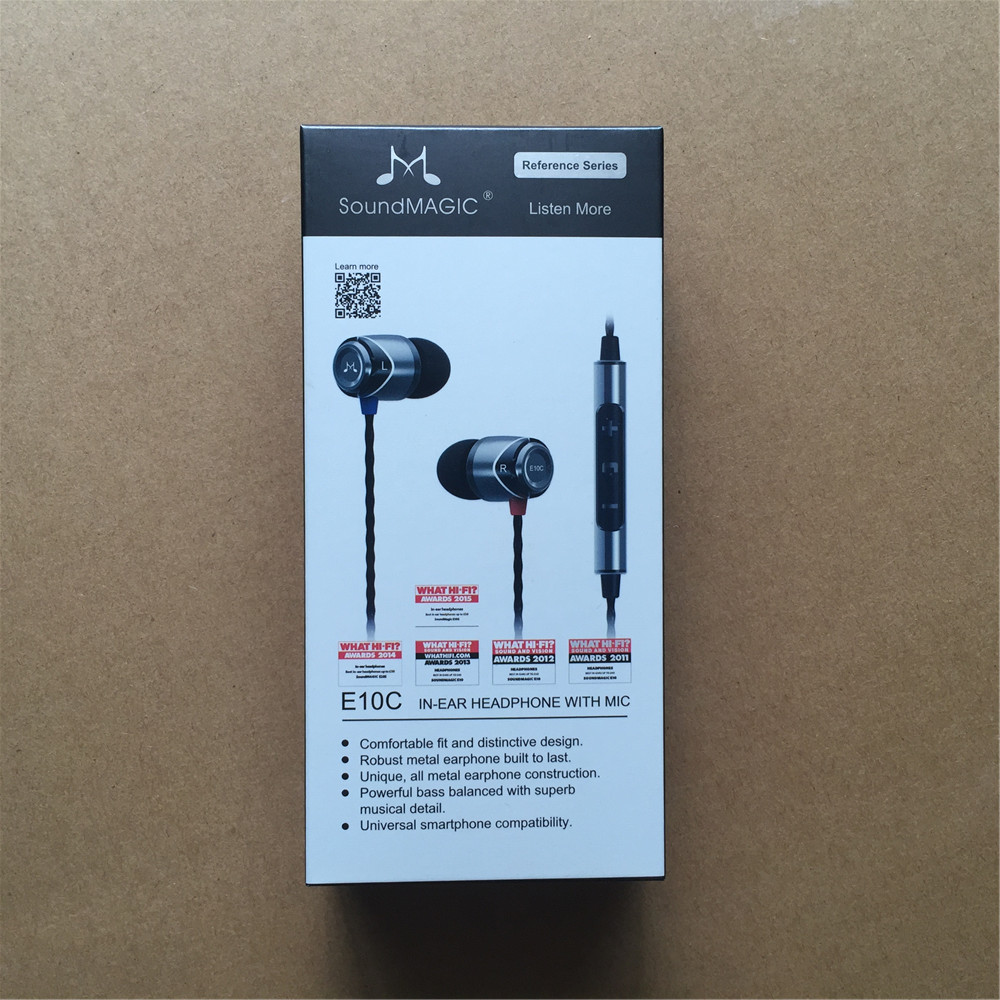 SoundMAGIC E10C With Mic and Volume Change Function Noise Isolating In-Ear Hifi Stereo Earphones картридж hp для samsung mlt d205s черный black 2000 стр для samsung ml 3310 3710 scx 56374833