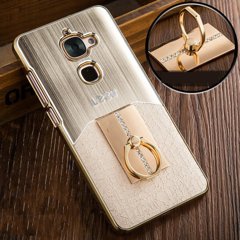 Newest for Letv LeEco Le 2 case Fashion Metal Brushed vintage style with Plastic Back Cover