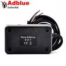 2 ШТ. + Качество Adblue Эмулятор 8 в 1 V3.0 с датчиком NOx эмуляции Профессиональный Диагностический Инструмент Для DAF и 7 Видов Мульти-грузовик