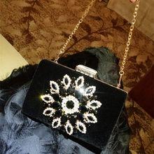Bag Des À Galerie Vente Evening Lots En Achetez Gros Black Velvet 34LAR5j