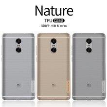 Case For Xiaomi Redmi Note 4 Cover For Xiaomi Redmi Pro NILLKIN Nature Transparent Clear Soft Silicon TPU Back Cove Case