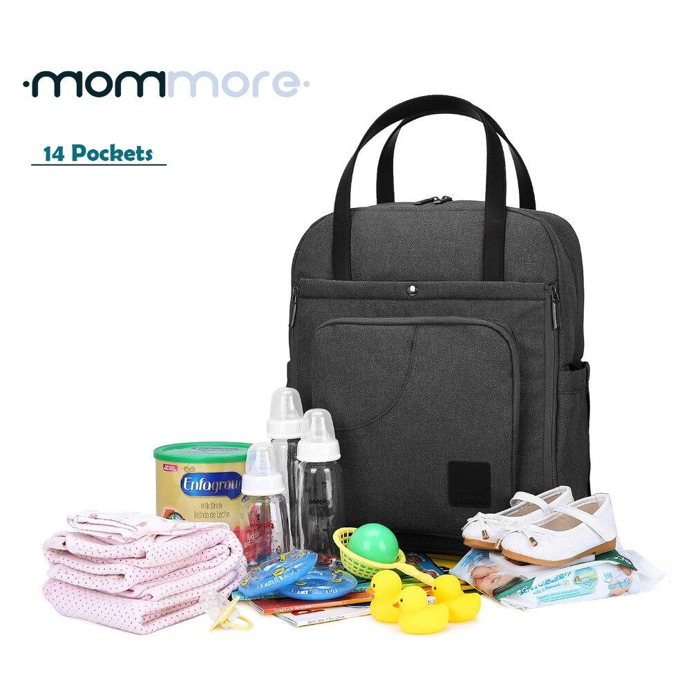 mommore Nowy plecak dla ciężarnych Plecak na pieluchy dla - Pieluchy i Trenowanie toalety - Zdjęcie 1