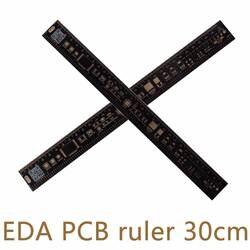 Универсальный линейка электронщика EDA измерительный инструмент Высокая точность транспортир 30 см 11,8 дюйм(ов))