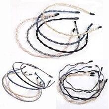 Sale 1PC Shiny Women Headband Simple Super Thin Hair band Weddings Styling Tools