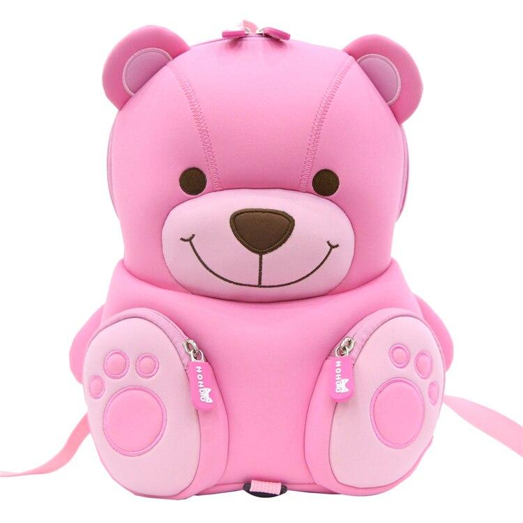 Kids bag 3D Bags for girls backpack kids infantis children school bags lovely Satchel School knapsack