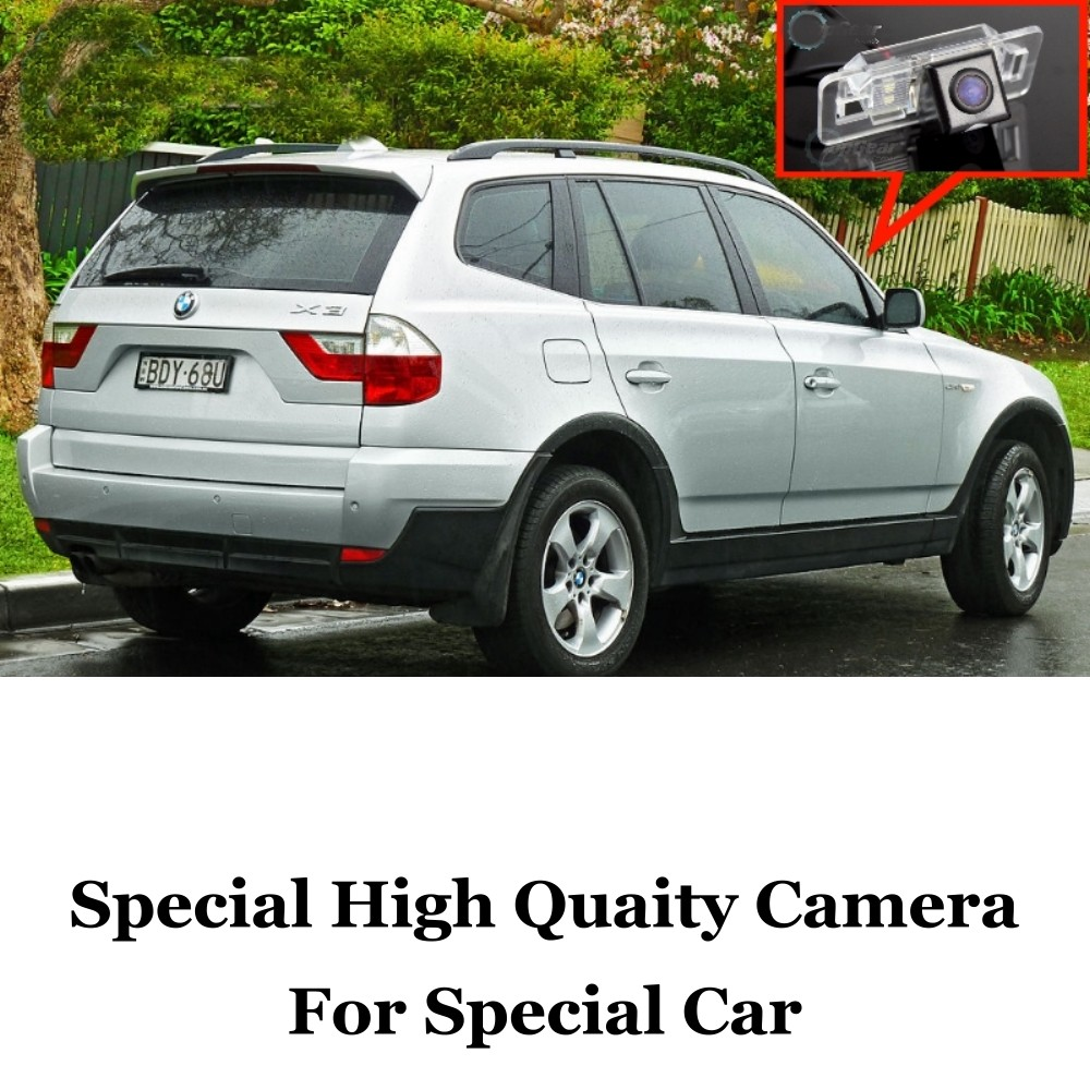 Car Camera For BMW X3 E83 2003~2010 High Quality Rear View Back Up Camera For Friends to Use  CCD With RCA car