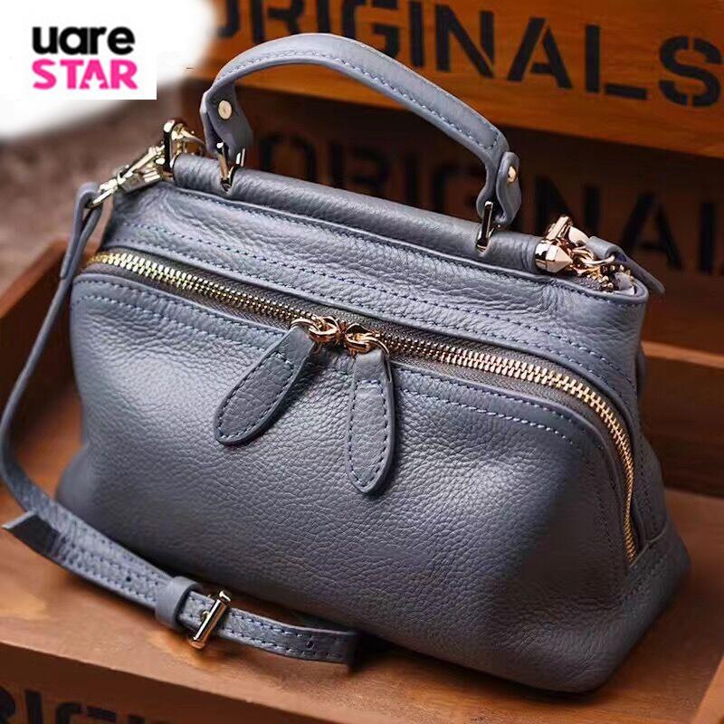Genuine Leather Women s Handbags Luxury Handbags Women Bags Famous Brands Designer Tote Bag High Quality