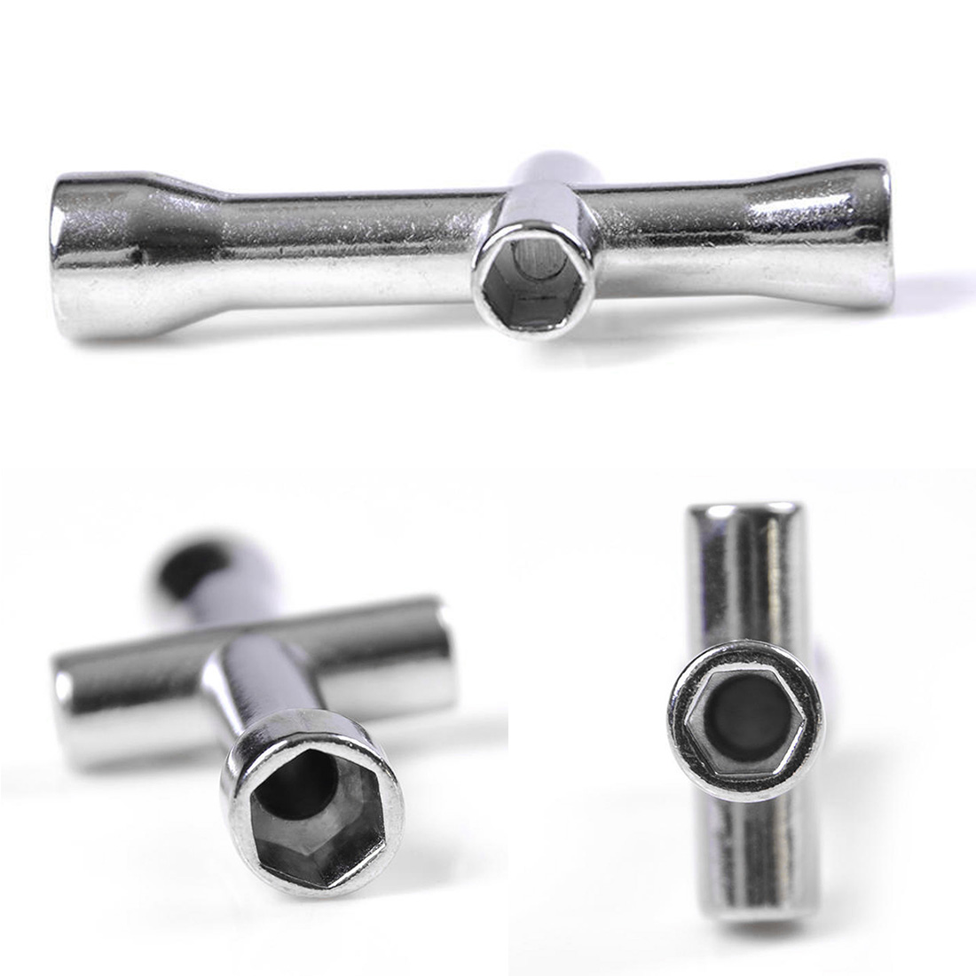 Car Cross Sleeve Wrench Suitable For Mini M2 M2.5 M3 M4 Screw Nut Hexagonal Cross Wrench Sleeve Maintenance Tool