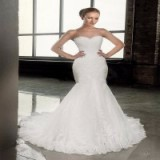 conew_conew_elegant mermaid wedding dresses cheap with cap sleeves lace appliques keyhole back detachable jacket custom made bridal gowns.3_conew2