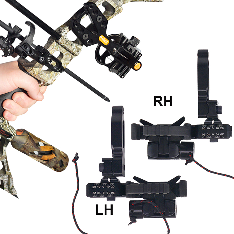 цена на Archery Compound Bow Drop Away Arrow Rest Adjustable Right Left Hand Fall Away Rest Compound Bow Hunting Shooting Accessory
