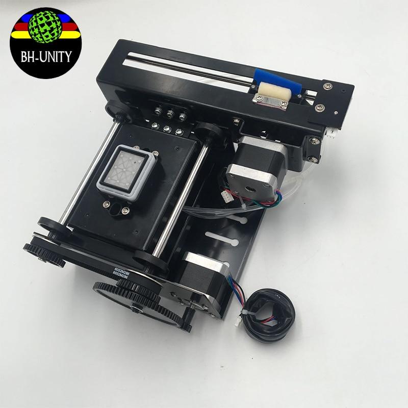 DX5 singola pompa di montaggio per Eco plotter solvente Cielo colore Yaselan X Roland Witcolor Allwin Gongzheng DX5 DX7 cap pulito kit - 2