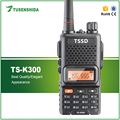Hot Sell VHF 136-174MHZ 5W MAX Rechargeable Battery Portable Ham Radios TS-K300