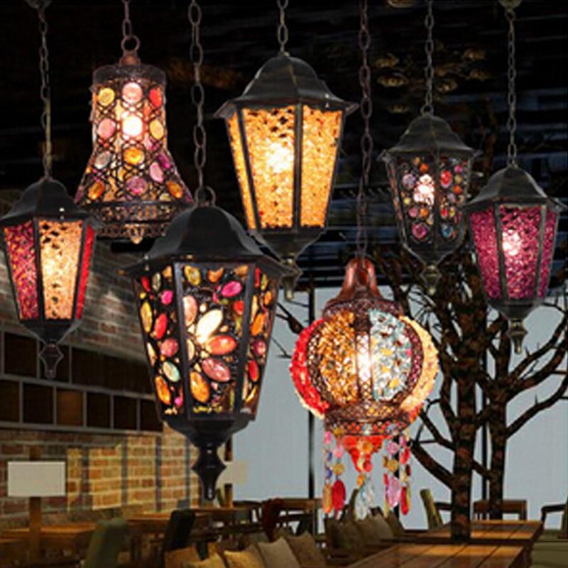 Кава люстра люстра американське село - Внутрішнє освітлення - фото 3