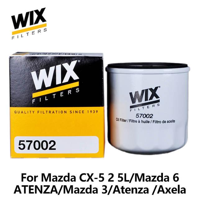 WiX Car Oil Filter For Mazda CX 5 2 5L/Mazda 6 /ATENZA 2 0L