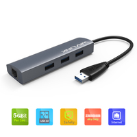 Wavlink 3 Port USB 3 0 HUB With 10 100 1000 Gigabit Ethernet Converter 3
