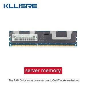 Server memory ECC Kllisre DDR3 4GB 8GB 16GB 32GB 1333 1600 1866MHz dimm REG ram supports X58 X79 motherboard(China)
