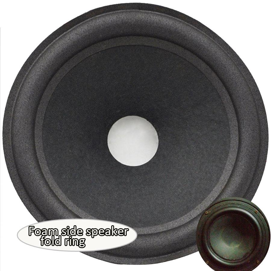 8Inch Speaker Surround Woofer Speaker Foam Side Bass Loudspeaker Repairable Part Accessories A Pair
