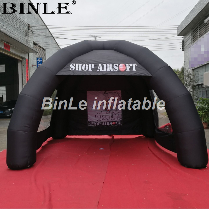 4m black advertising inflatable tent with 2 clear windows 4legs spider tent inflatable tent price for outdoor event free shipping 5x2 5 m inflatable spider tent in white with four legs inflatable gazebo event tent toy tent for sale lawn tent