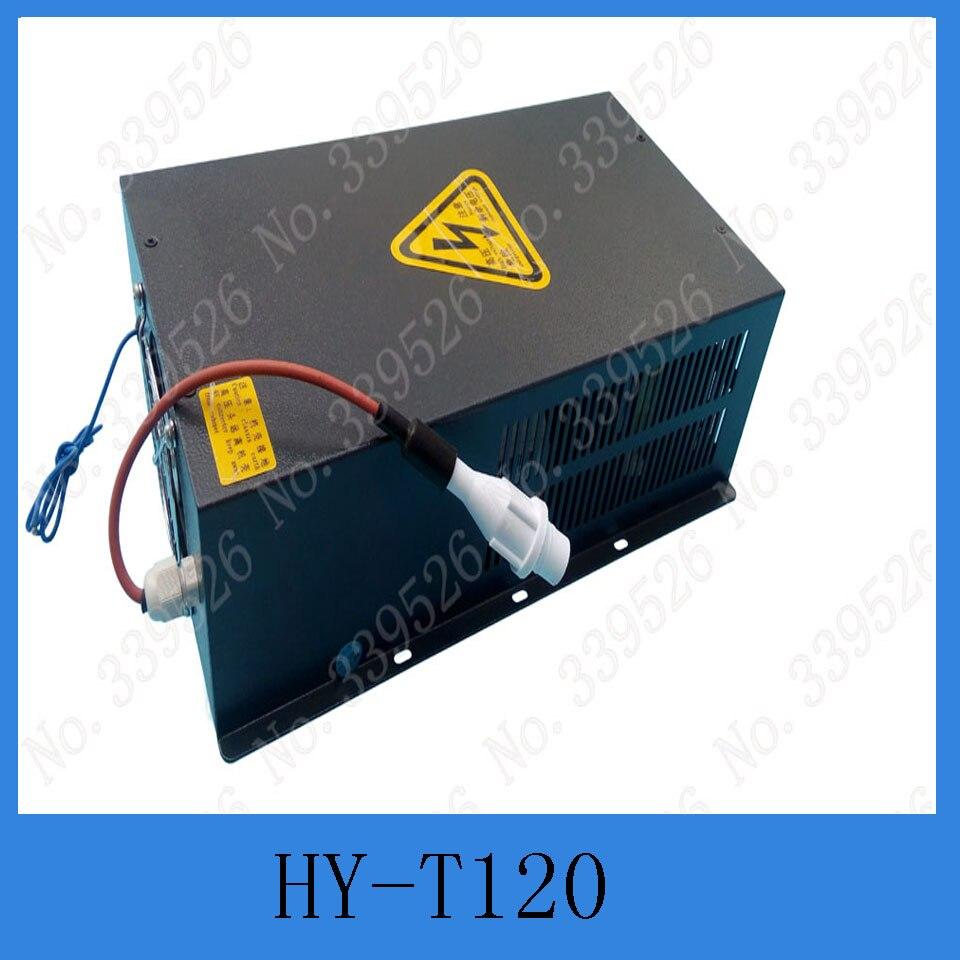 Stabilivolt 100 w-120 W Co2 Fornecimento de Energia Laser Para 100 w 120 W tubo Do Laser de Co2 e de corte & máquina de gravura
