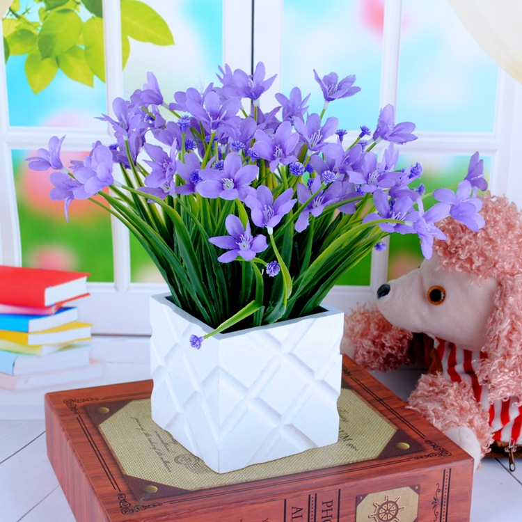Orchid Flower Arrangements For Weddings: Aliexpress.com : Buy 1Bunch Artificial Plastic Orchid