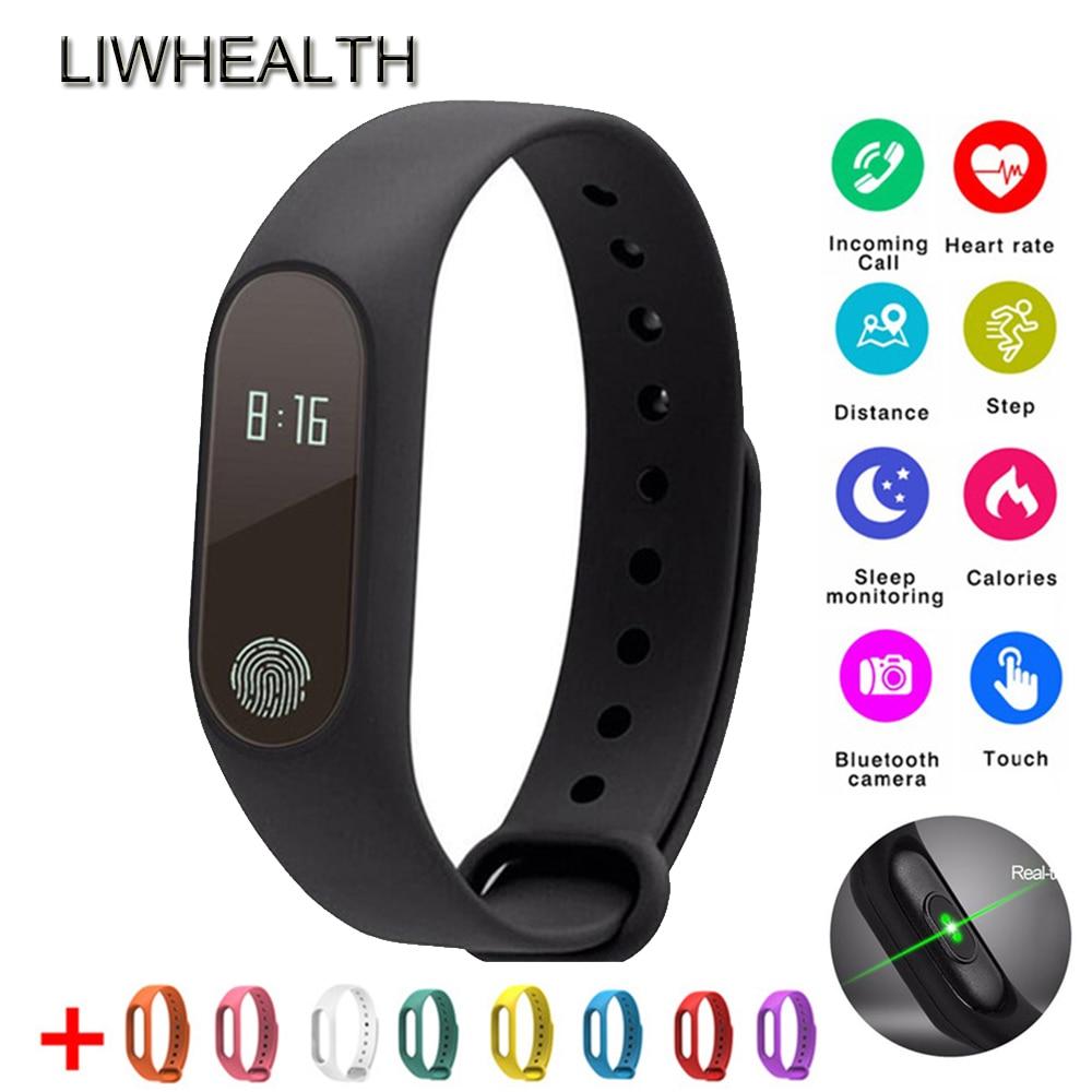 HEIßER Smart Fitness Armband HR Herz Rate Monitor Aktivität Tracker Uhr Band Fit Für IOS/Xiaomi/Honor PK miBand 3/Fit Bit 4