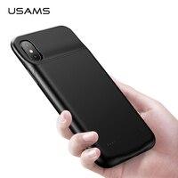 0e9432e2fd6 USAMS 3200Mmah Battery Charger Case For IPhone X XS Case External Power  Bank 4000mAh Battery Case