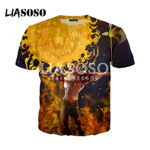 LIASOSO NEW Anime Nanatsu No Taizai The Seven Deadly Sins Escanor 3D Print T shirt/Hoodie/Sweatshirt Cosplay Unisex tshirt G2203