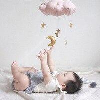 Детские Дождевые облака Висячие кроватки для палатки украшения комнаты детская настенная кровать подвесное украшение для детской фотогра...