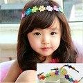 Meninas Headbands Da Menina Da Criança Do Cabelo Do Bebê Headbands Multicolor Em Forma de Girassol AccessoriesHOT VENDA