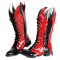 2014 new fashion male Tall Martin boots men stitching leather boots men's punk rock patchwork performances shoes H2662
