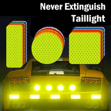 Nighttime Car Bumper Reflective Sticker Waterproof Motorcycle Fender Safety Warning Sign