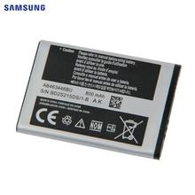 SAMSUNG Original Battery AB463446BU AB553446BC For Samsung X208 B189 B309 F299 GT-E2652 C3300K X160 AB043446B EBattery 800mAh мобильный телефон samsung b189 cdma