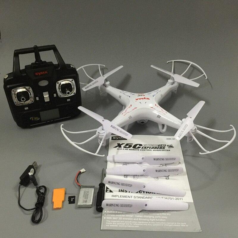 RC Drone Syma X5C-1 RC Quadcopter Drone Avec Caméra Syma X5C Dron RC Hélicoptère Drones avec Caméra HD VS JJRC H31 H33