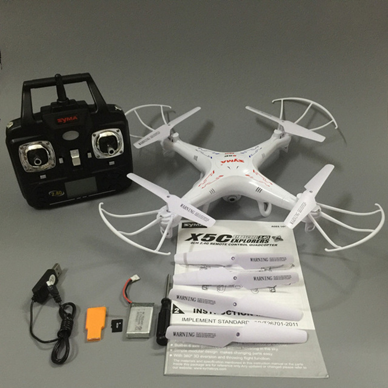 RC Drone Syma X5C-1 RC Quadcopter Drone With Camera Syma X5C Dron RC Helicopter Drones with Camera HD VS JJRC H31 H33 cheapest price hot selling syma x5c x5c 1 2 4g rc helicopter 6 axis quadcopter drone with camera vs x5 no camera free shipping