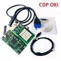 Новые! версия 2014, 2 Золотой tcs oki bluetooth CDP с oki chip (M6636B OKI Chip) с BT для автомобилей и грузовиков 3 в 1 бесплатная доставка