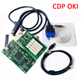 Newest! Version 2014.,2 Golden tcs oki bluetooth CDP with oki chip( M6636B OKI Chip) With BT for car&trucks 3 in 1 free shipping