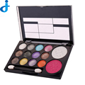 Diamond Eyeshadow 14 Colors Eye Shadow Palette Diamond Bright Colorful Cosmetics Glitter Eyeshadow Make Up With Brush H71