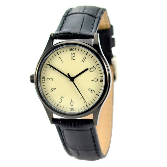Reverse Watch Black - Unisex - Free shipping worldwide I Welcome Wholesale