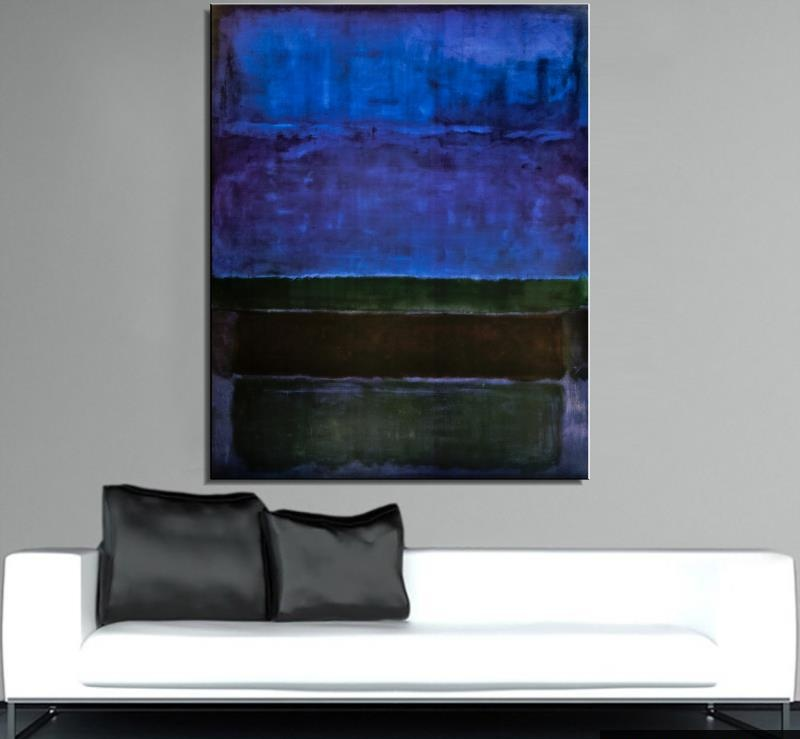 Mark rothko ainda vida clássica pintura a óleo pintura a óleo arte pintura sem moldura da parede lona figura em miniatura realista