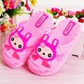 2017 New Baby Boy Girl Summer Slipper Cartoon Rabbit Decor Kid Anti-sliper Shoes Unisex Children Breathable Sandal Slippers
