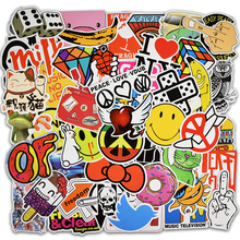 400 Pcs Mixed Stickers DIY Jdm Doodle Decals Home Luggage Laptop Car Styling Skateboard Decor Funny Cartoon Sticker Toys