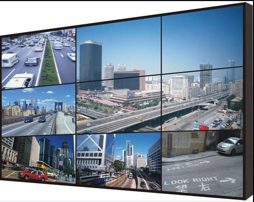Samsung DID55 inch Ultra Narrow patchwork 10mm large screen LCD splicing machine KTV Bar Meeting hdmi 3x3 LCD Video Wall