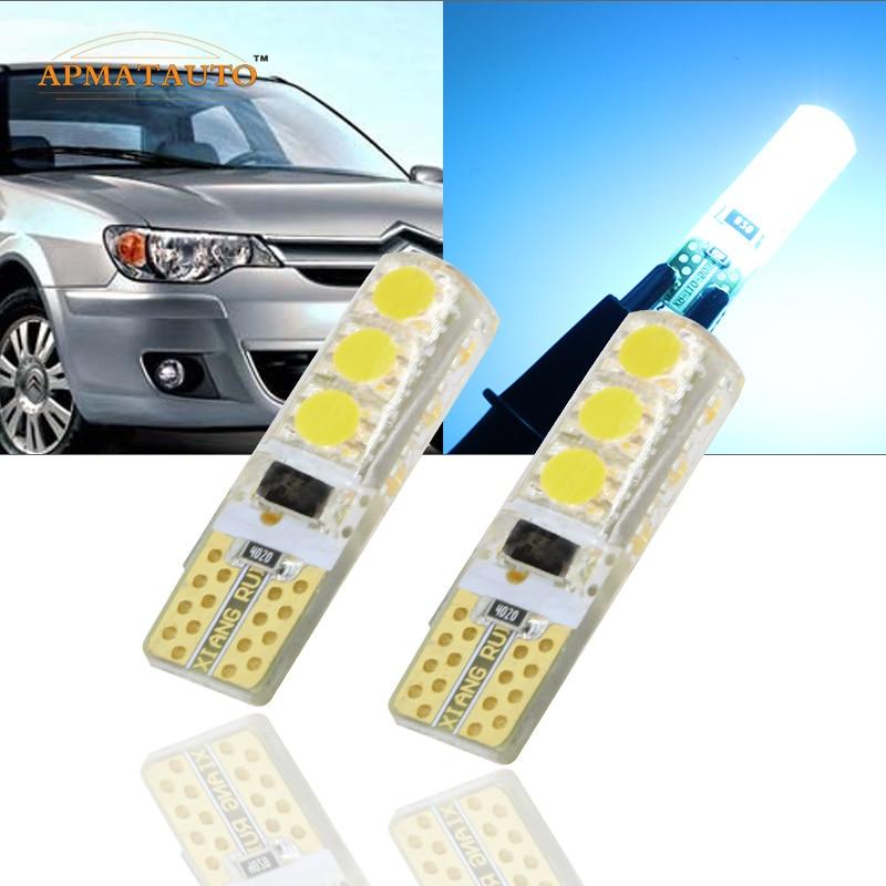 2 x T10 W5W T16 nagy teljesítményű LED parkolófény Sidelight - Autó világítás - Fénykép 1